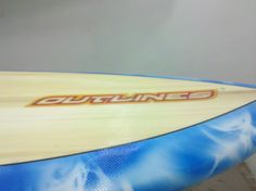 Prancha de Stand Up Paddle Fun sob medida projetada para ganhar velocidade nas remadas.  #outlines #sup #standuppaddle