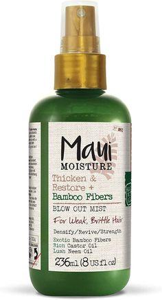 Maui Moisture Vegan Bamboo Fiber Hair Thickening Spray