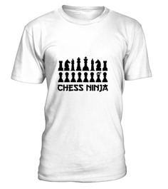"""# Chess Ninja Master Funny Graphic Tee .  100% Printed in the U.S.A - Ship Worldwide*HOW TO ORDER?1. Select style and color2. Click """"Buy it Now""""3. Select size and quantity4. Enter shipping and billing information5. Done! Simple as that!!!Tag: chess player, game of chess lover, Checkered"""