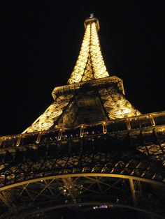 Eiffel Tower @ night