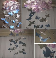 Pretty Butterfly Mobile