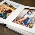 Deluxe Gray Slip-In Professional Photo Album from Rice Studio Supply