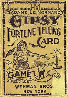 When Tarot and Fortune telling cards began to be sold in stores by people who manufactured games. These cards could only be sold if Game was in the title. Vintage Gypsy, Vintage Circus, Vintage Carnival, Gypsy Life, Gypsy Soul, Boho Gypsy, Gypsy Fortune Teller, Fortune Telling Cards, Circus Poster