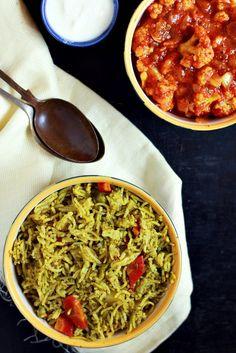 #new Pudina pulao recipe, quick and easy to make pudina pulao with fresh mint…
