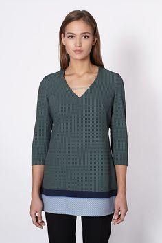 Long Sleeve Shirts, Vogue, Tunic Tops, Model, Shopping, Fashion, Tunic, Moda