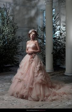Wedding dress Ian Stuart Cuvee Rose Frill Me! - BridalCat.com