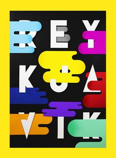REYKJAVIK EXHIBITION - Showusyourtype on Behance