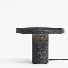 The New Core Table Lamp exudes honesty with its rough surfaces and bold contemporary form.⠀ Its precise production is coupled with a raw Lundhs Blue Granite composition, as its crystals shimmer and dance under the illuminated light to display a life all of its own. In Stock from March. #newworksdk #objectsofcopenhagen #core #tablelamp #blue #granite #scandinaviandesign #maisonetobjet #furniture #fair #paris @maisonetobjet @runaklock⠀