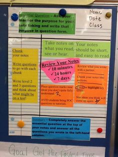 Notes/anchor chart on how students should use Cornell notes to help them be a better student Middle School Classroom, Middle School Science, Science Classroom, Teaching Science, Classroom Ideas, Teaching Geography, Science Notes, Classroom Organisation, Flipped Classroom