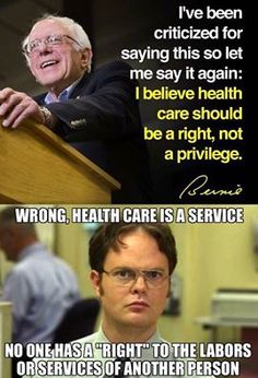 Bernie fucking Sanders. What an idiot!