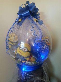 Minion stuffed balloon