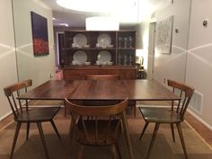 Paul Mccobb, International Style, Furniture Companies, Mid Century Furniture, Contemporary, Modern, Chairs, Dining Table