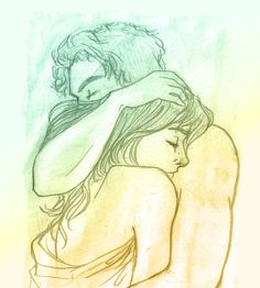 Jace and Clary, after their first real night together.