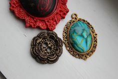 Muse, Crochet Earrings, Stone, Jewelry, Fashion, Fimo, Moda, Rock, Jewlery