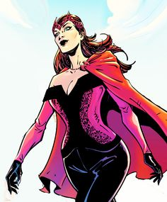 Scarlet Witch in Uncanny Avengers Annual 01