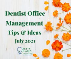 Dentist Office Management Tips and Ideas for July 2021 | Office Management, Management Tips, Dental Practice Management, Dental Offices, Hello To Myself, Employee Appreciation, Social Media Site, Marketing Ideas, Say Hello