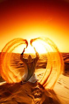 Gorgeous way to pray - Sand Angel.