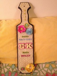 #sorority #paddles #SigmaKappa #sigma #kappa #greeklife http://somethinggreek.com/shop/shopdisplaycategories.asp?id=161=PADDLE+%26+WOOD+PRODUCTS