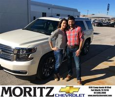 Congratulations to Dwain Mcfarland on your #Chevrolet #Tahoe purchase from Augustine Moralez at Moritz Chevrolet! #NewCar