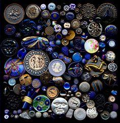 Huge Mixed Lot 1700 Plus Antique Vintage Modern Buttons | eBay