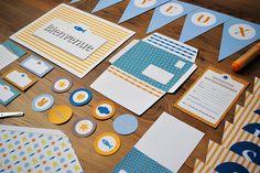 Kit complet pour anniversaire enfant à imprimer- printable