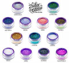Lime Crime - Zodiac Glitters! I want one! So Pretty #glitter #makeup