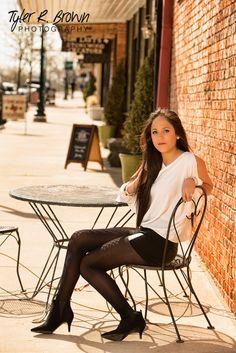 Daniela Castro - Class of 2014 - Liberty High School - #seniorportraits - Senior Pictures - Senior Photos - Senior Pics - Downtown McKinney - Session - Girls - Senior Picture Pose Ideas - Tyler R. Brown Photography