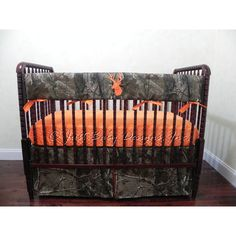 Custom Bumperless Baby Bedding Set Trent Boy Baby Bedding Teething... ($165) ❤ liked on Polyvore featuring home, children's room, children's bedding, baby bedding, bedding, dark olive and home & living