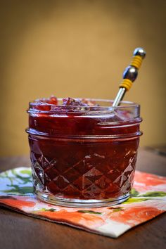 Cranberry Jam from Vanillagarlic | Food | Pinterest | Cranberries ...