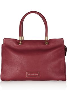 Marc by Marc Jacobs | Too Hot To Handle textured-leather tote | NET-A-PORTER.COM