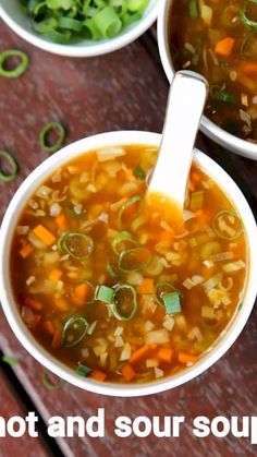 hot and sour soup recipe, hot n sour soup, hot sour soup recipe with step by step photo/video. easy & simple soup recipe known for its spice & sourness taste. Veg Soup Recipes, Spicy Recipes, Cooking Recipes, Simple Soup Recipes, Canapes Recipes, Puri Recipes, Paneer Recipes, Cuban Recipes, Hot N Sour Soup