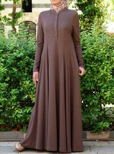 Shirtdress Abaya with Godets Pakistani Fashion Party Wear, Abaya Fashion, Muslim Fashion, Fashion Dresses, Sharara Designs, Abaya Designs, Muslim Long Dress, Hijab Style Dress, Stylish Hijab