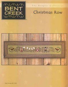 Schema punto croce Christmas Row 01