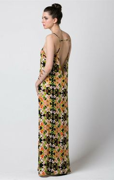 82f4e24894c Grace Floral Maxi - love   whiskey PREORDER SHIPS LATE JUNE Only  40.00