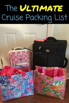 Your guide to packing for a cruise vacation.