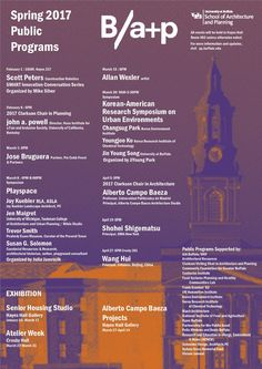 Get Lectured: University at Buffalo, Spring '17 | Archinect