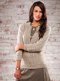 Knitting - Weekender Cardigan : pattern $5.29