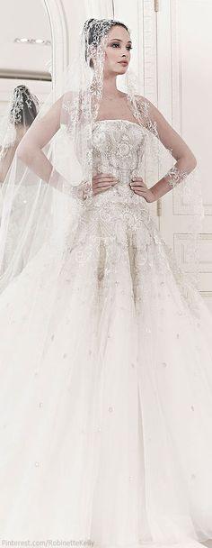 Zuhair Murad Bridal | Spring-summer 2014  Keywords: #zuhairmuradweddinggowns #jevel #jevelweddingplanning Follow Us: www.jevelweddingplanning.com www.pinterest.com/jevelwedding/ www.facebook.com/jevelweddingplanning/