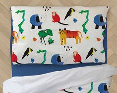 Shop this gorgeous Jungle Animal Duvet Cover and more at Wake Up Duvets Etsy store www.wakeupduvets.etsy.com