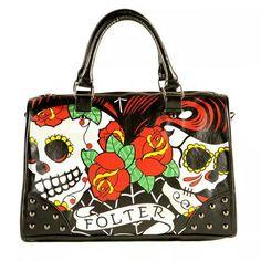 Folter skull purse