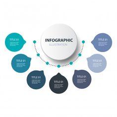 Millions of Free Graphic Resources. Circle Infographic, Infographic Powerpoint, Timeline Infographic, Infographic Templates, Powerpoint Design Templates, Timeline Design, Presentation Layout, Instructional Design, Web Design
