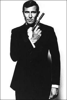 George Lazenby - James Bond en 1969 -
