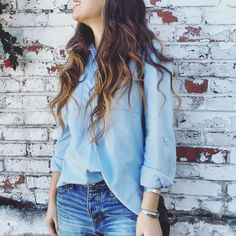 Chambray is always a good idea. Make this Old Navy chambray popover yours. #shopreclamation