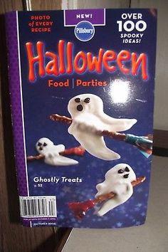 Pillsbury Halloween October 2006 Food Parties Fun Ghostly Treats Spooky Ideas