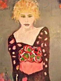 AM I BLUE...artist, Sandy Welch