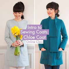 Always wanted to learn to sew your own coat but nervous togo it alone? Our brand newIntro to Sewing Coats: Chloe Coat is the online class for you! | Sew Over It