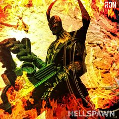 Hell spawn action figure