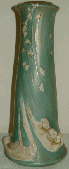 Art Nouveau Austria Amphora Vase