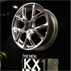 mbDESIGN KX1 Felge - kovexes Design Version 1 auf der Essen Motor Show #wheelporn #wheels #tuning #Felgen