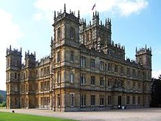 Highclere Castle /ˈhaɪklɪər/ is a country house in the Jacobethan style by the architect Charles Barry, with a park designed by Capability Brown. The 5,000-acre (2,000 ha) estate is in Hampshire, England, United Kingdom, about 5 miles (8 km) south of Newbury, Berkshire. It is the country seat of the Earl of Carnarvon, a branch of the Anglo-Welsh Herbert family.